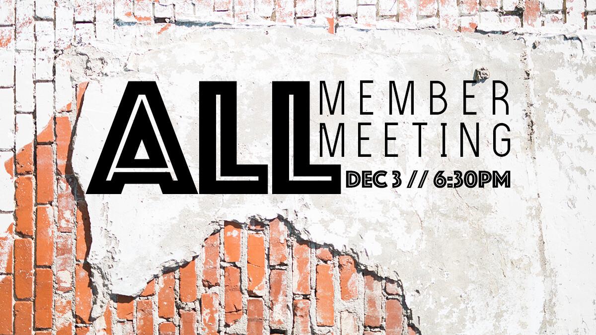 All Member Meeting
