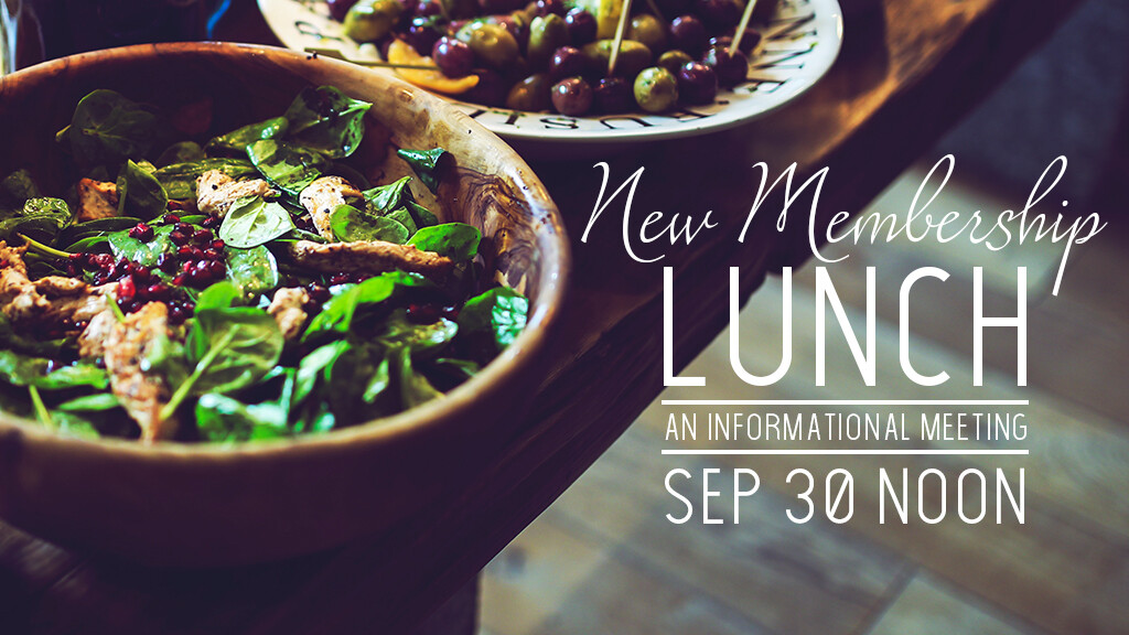 Informational Membership Lunch
